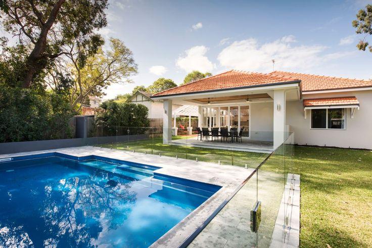 Ferndale Street alfresco & pool by Exactus Homes, Perth