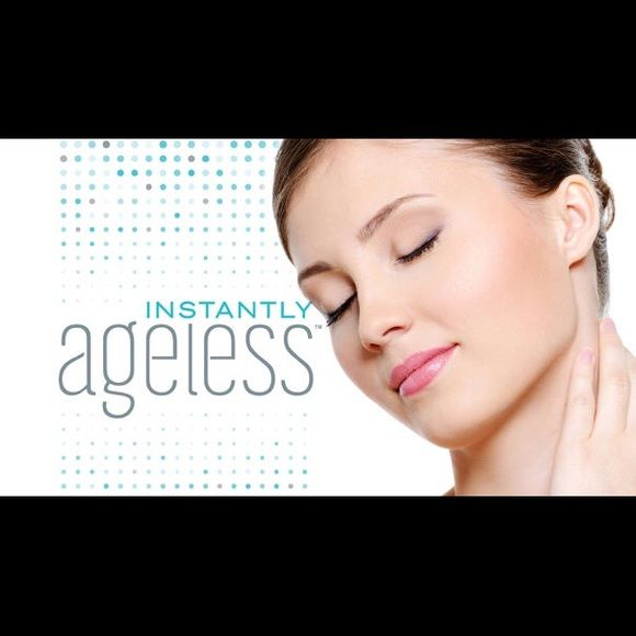 Instantly Ageless It had originally 5 strips of 5 multi-use vials but I have used on strip . So I am selling the remaining 4 in its original box with directions . The box itself is gently used from sitting and being moved around in my makeup bag Jeunesse Global  Other