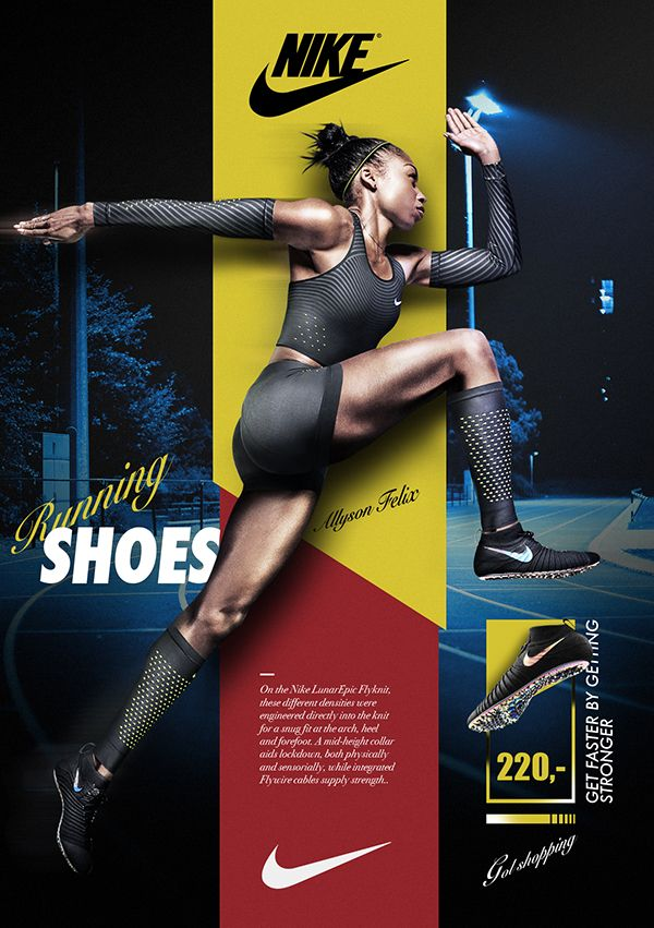 Poster Marathon Nike on Behance