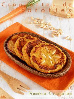 Alter Gusto | Croquettes aux carottes, parmesan & coriandre - Si j'avais lu, je m'aurais pas fait eu … -