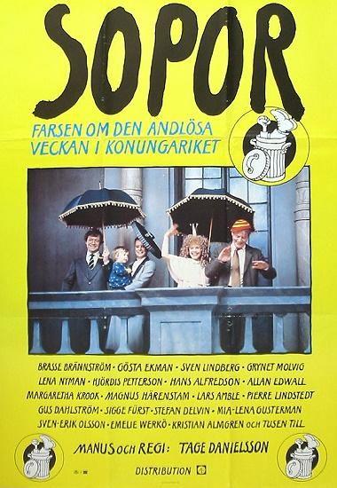 """""""Sopor"""" (Garbage)  Political comedy by Tage Danielsson"""