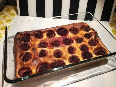 Воздушный йогуртовый десерт с клубникой