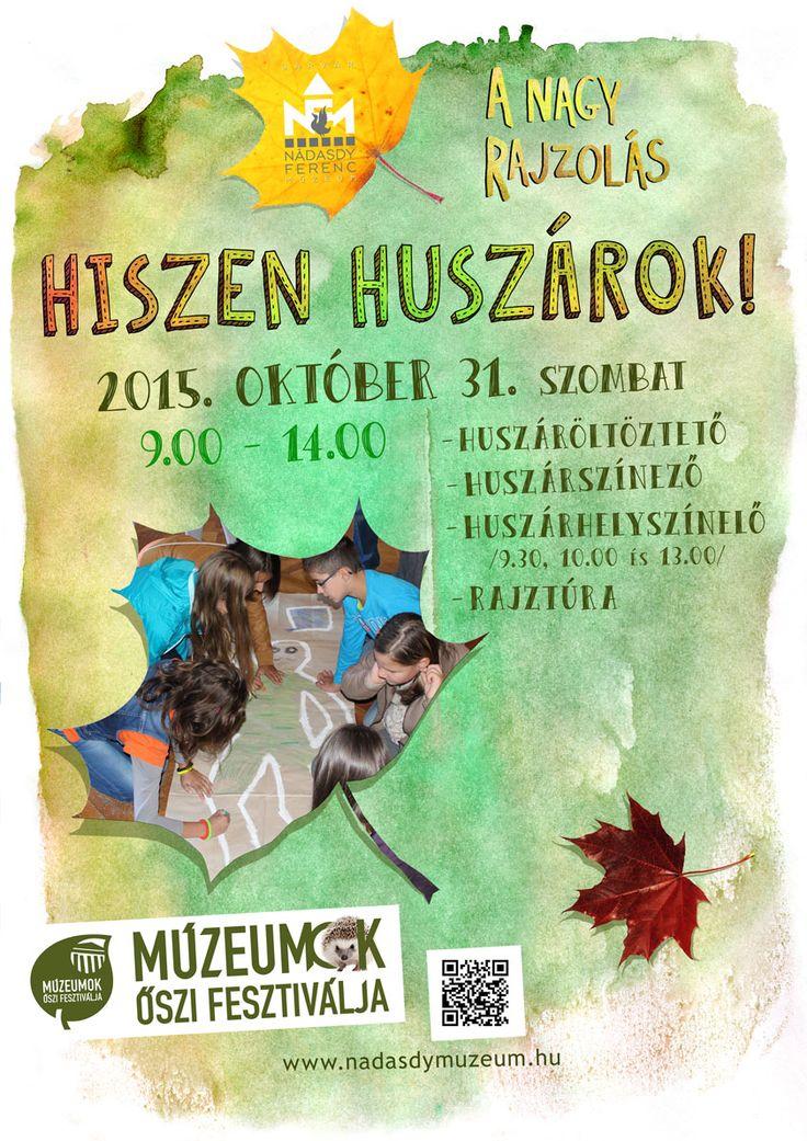 Huszáros rajzok, rajzos huszárok! Családi program szombaton, október 31-én a sárvári múzeumban. Rajztehetség nem feltétel! Jókedvet pedig csinálunk!