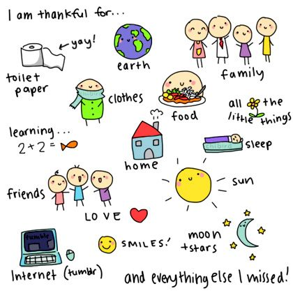 I'm thankful for.... This is fab :)