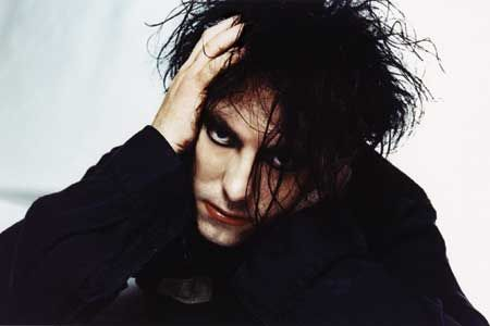 Robert Smith from The Cure