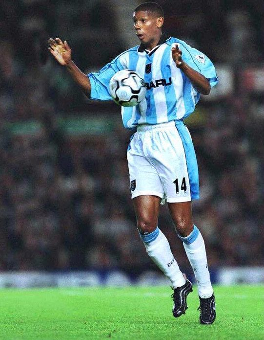 Carlton Palmer of Coventry City in 2000.