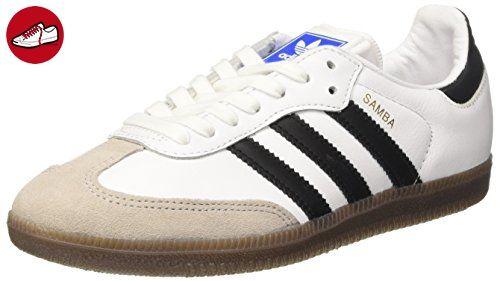 Adidas Unisex-Erwachsene Samba Og Sneaker Low Hals, Elfenbein (Ftwr White/Core Black/Gum), 36 2/3 EU - Adidas sneaker (*Partner-Link)