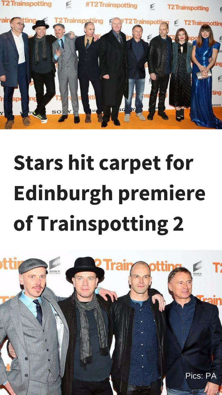 """The stars were greeted by the crowds as they walked the orange carpet ahead of the showing, which was also attended by Trainspotting original cast member Kelly Macdonald and Anjela Nedyalkova - who plays the lead female character Veronika in T2.  Ewan McGregor described reuniting with his fellow Trainspotting stars to reprise their original characters in the sequel as an """"amazing"""" experience."""