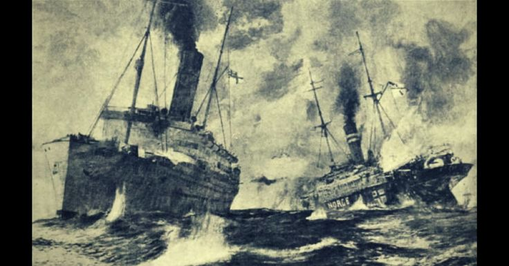 Battle of WWI merchant raiders: HMS Alcantara v SMS Greif