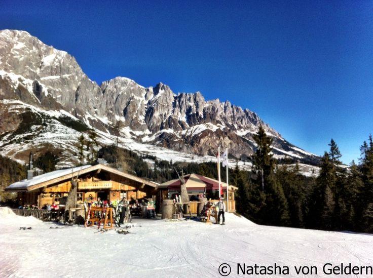 Alpine huts of the gorgeous Hochkonig region for Ski holidays in Austria: http://www.worldwanderingkiwi.com/2014/01/hochkonig-ski-holidays-austria/