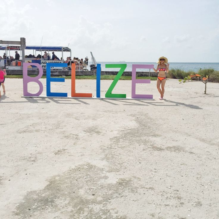 Hello Belize! I'm aboard the Carnival Magic for a summer getaway to the Western Caribbean. Our first two days were spent at sea, and then we toured the shores of Cozumel by jeep. On day 4, we sailed to the Carribean Islands and anchored right off the island of Belize. Waking up to these