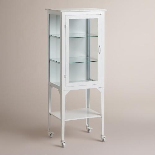 Large White Giselle Cabinet | World Market