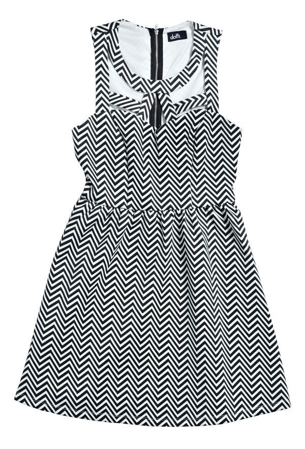 Dress from Dotti. #monochrome