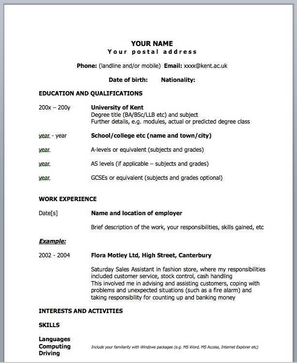 how to write a one page resume template 28 images sle programmer