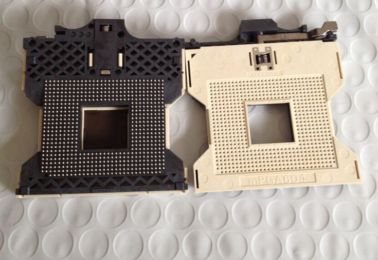 CPU socket SOCKET PGA 604P BGA connector PZ60403-013-T. Yesterday's price: US $49.50 (40.21 EUR). Today's price: US $40.59 (32.97 EUR). Discount: 18%.