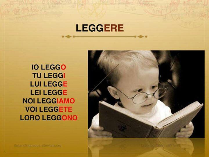 Leggere-To read