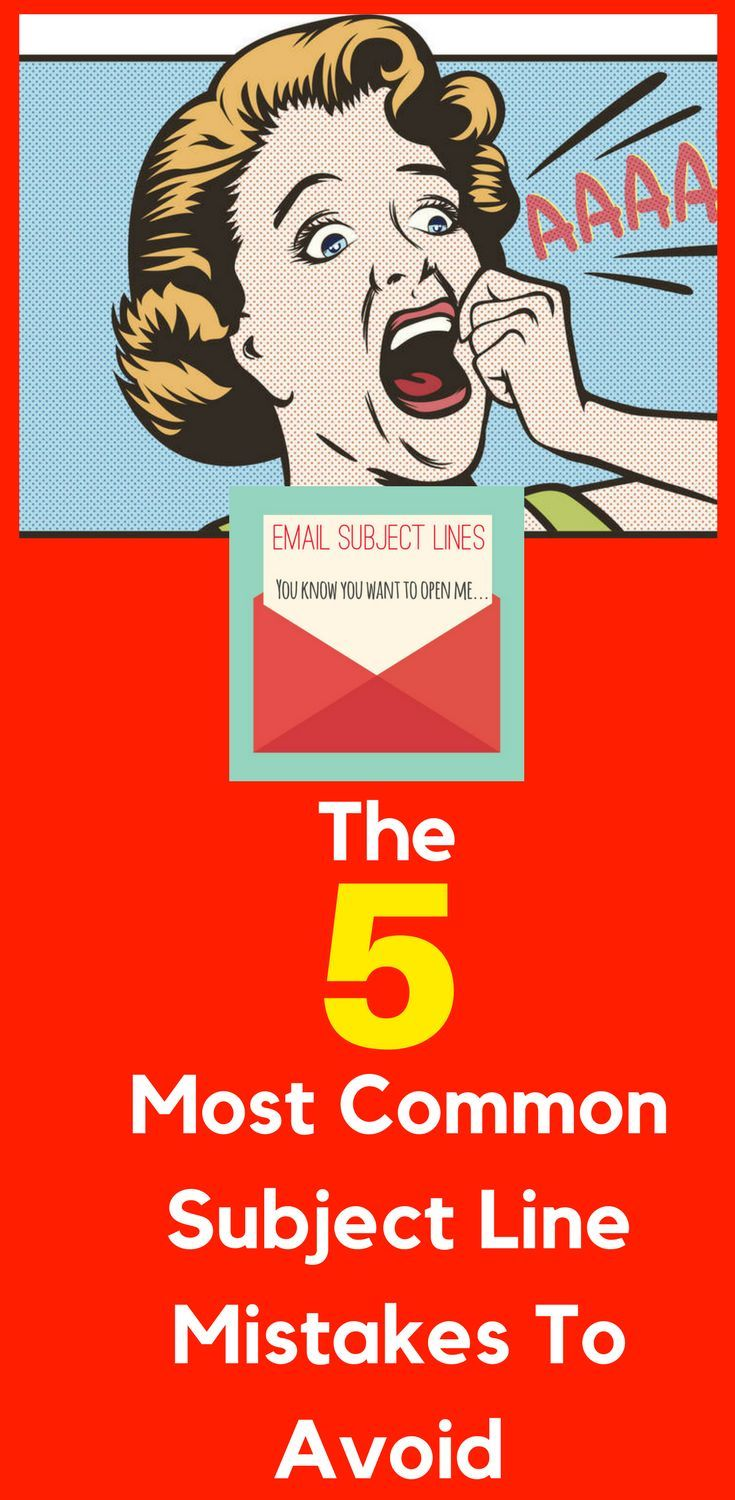 5 Most Common Email Subject Line Mistakes to Avoid  So you've just put your finishing touches on that #latest #blog #post, new #YouTube #video that you know is going to really help all those people on your list, your #audience, though after checking your open rates, you're quietly devastated at your low open rates. Here's what to do about it!    Where are the best subject lines? In your inbox! What makes you click on an email to open it?