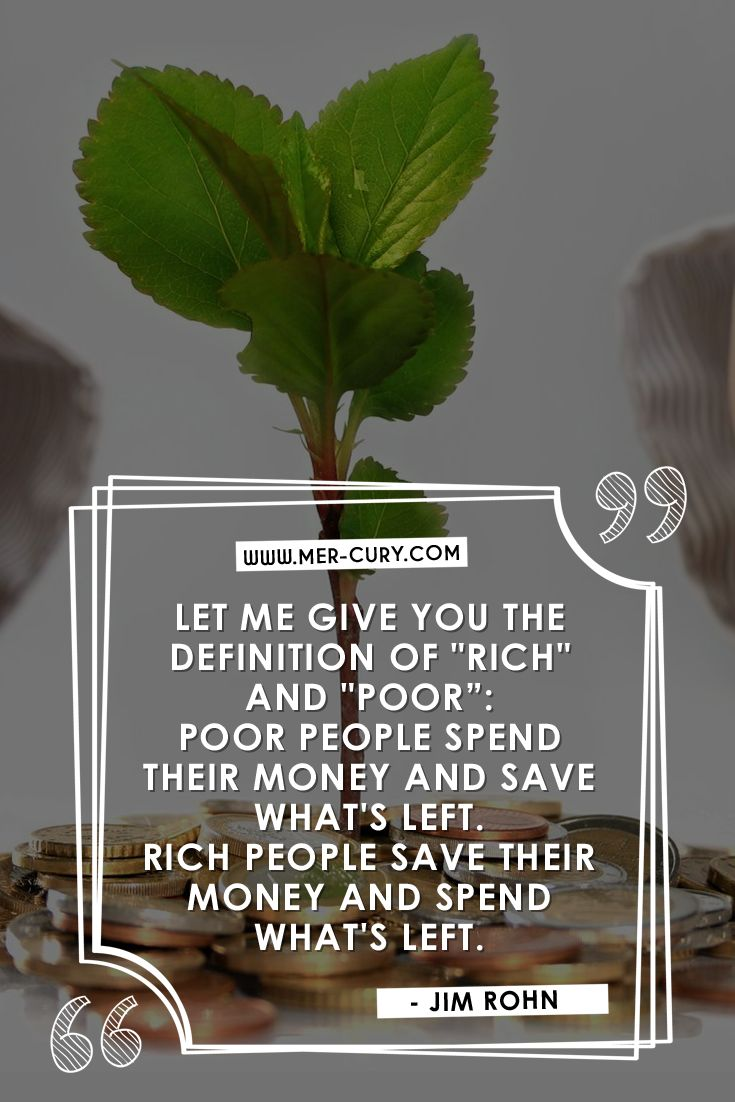 Money Quotes | The definition of rich is not based on how much money you make; it's based on how much money you have and how many assets you have. Therefore, the more money you save and invest, the richer you are. So, while making more money can help you build your wealth and become rich, the priority thought when it comes to money, no matter how bad or good your financial situation is, should be saving | http://mer-cury.com/quotes/7-money-quotes-that-will-give-you-something-to-think-about/