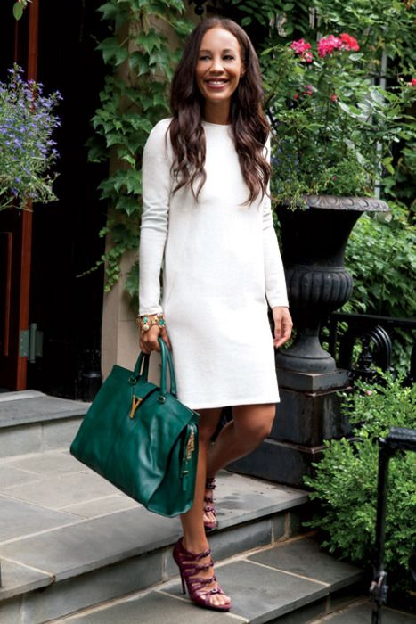 Summer style with the Yves Saint Laurent Cabas ChYc Tote