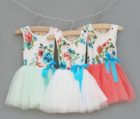 Bella Floral Tutu Dress