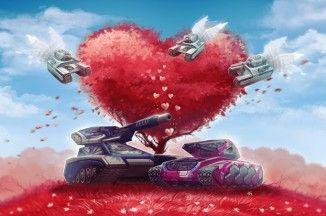 Valentine's Day in Tanki Online
