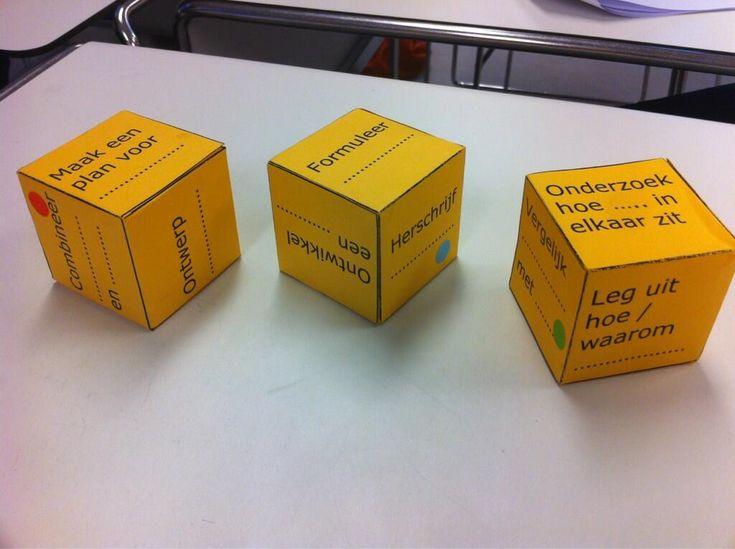 Het goed leren stellen van vragen aan hoogbegaafde leerlingen... gave methode