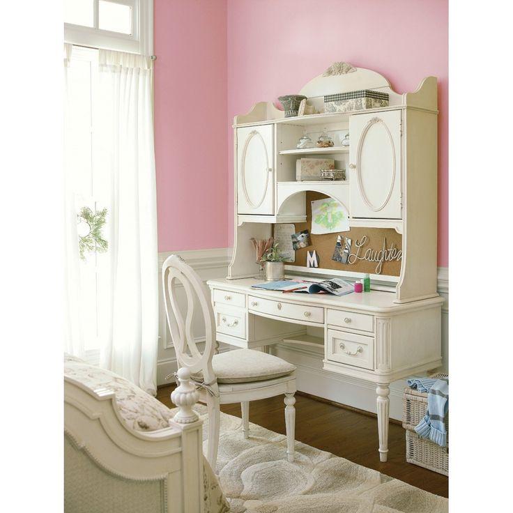 Gabriella Student Desk with Storage Hutch - Study Furniture - Universal Smart Stuff | The Design Network