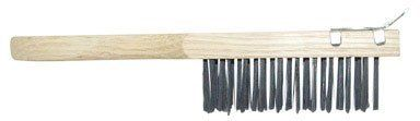 """WIRE BRUSH 11""""WD SCRPR by Hyde. $2.87. 35mm Black wire stripping and scrub brush for big cleaning jobs. Entire brush measures 4"""" x 11"""" with scraper."""