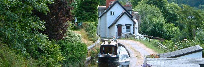 Waterways Holidays, Wales