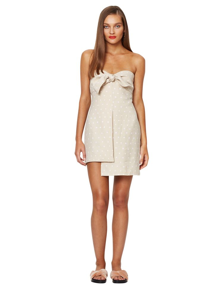 bec and bridge - So Frenchy Mini Dress - Spot