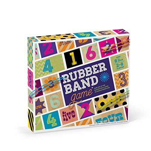 Rubber Band Game  Fun Family Game for Ages 8 -- More info could be found at the image url. Note:It is Affiliate Link to Amazon. #shoutoutback