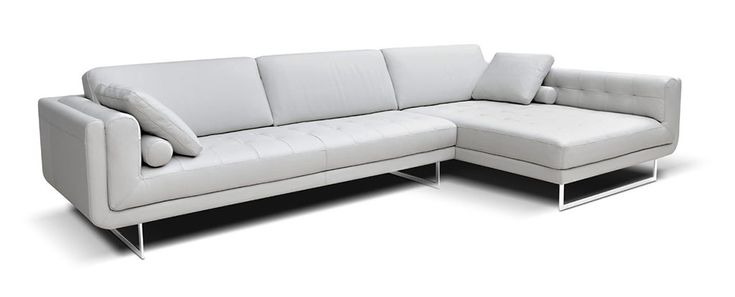 Clarissa Leather Sectional by Bracci Italia found at @parcmodern in #yyj.
