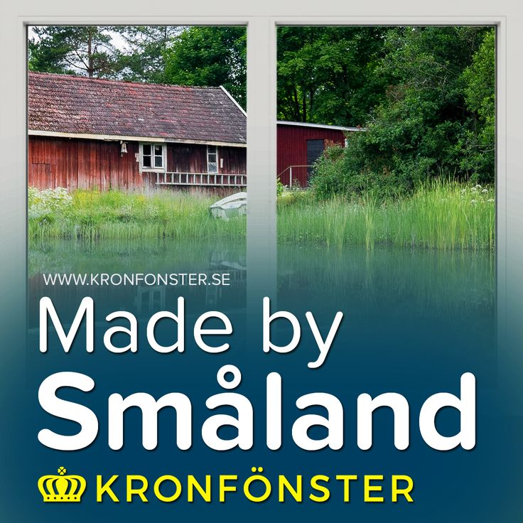 Fönster från Kronfönster - Made by Småland  Avans: Fast fönster 2-luft 3-glas  #PVCfönster #Avans #Plastfönster #fönster #Kronfönster  Läs mer » https://goo.gl/yGtcZf