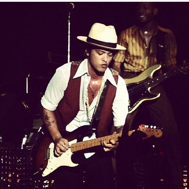 Bruno mars live @ Mannheim with my girl @csamia