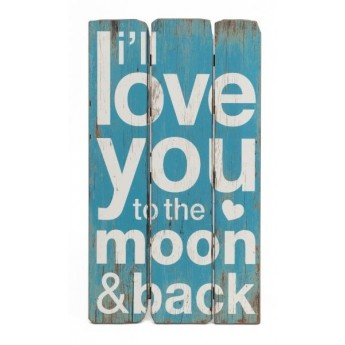 Love You to the Moon Wall Art