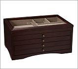$99.00 Andover Jewelry Box from Potter Barn in Espresso Stain