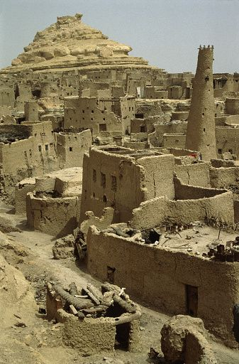 Mud-huts in Matruh, Egypt                                                       …