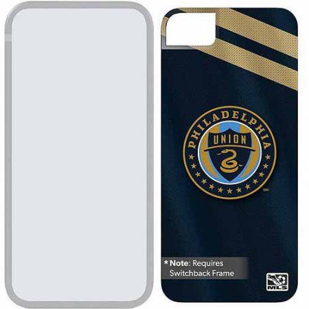 Philadelphia Union Jersey Design on Apple iPhone 5SE/5s/5 Switchback Extra Backplate by Coveroo