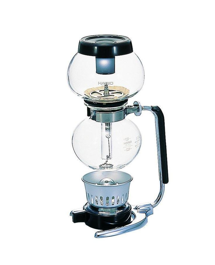 The Hario 'Moca' Syphon is an entertaining way to make a delicious cup of your favourite coffee for your family and guests while having total control of ratio, timing and taste.  The Hario syphons are easy to use with either the included alcohol burner.