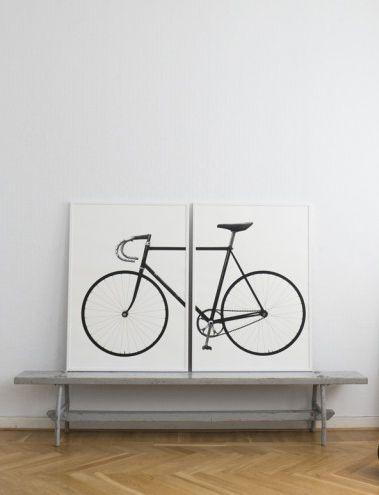 Ride, screen print and art poster by Scandinavian Jollygoodfellow - Nordic Desgn Collective @lnddesignfari