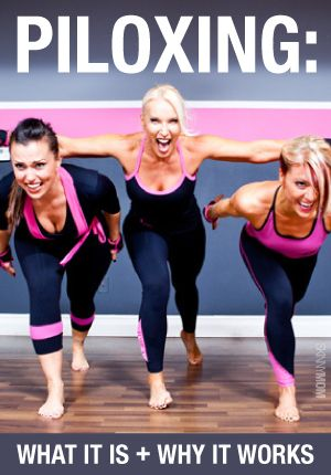 This fusion of Pilates and kickboxing is a fantastic and unique way to whip your whole body into shape.   Check it out on our site!