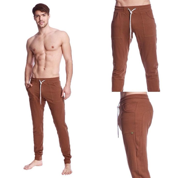 Long Cuffed Perfection Yoga Pants for Men