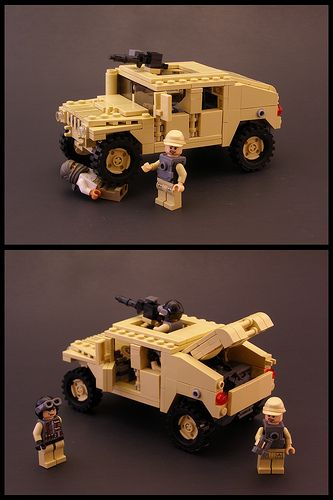 Lego Humvee with instructions                                                                                                                                                                                 More