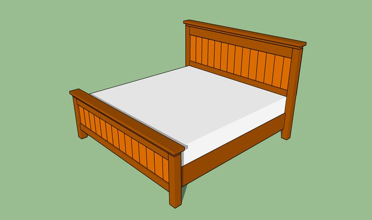 46 best diy king bed frame headboard images on pinterest for Build your own canopy frame