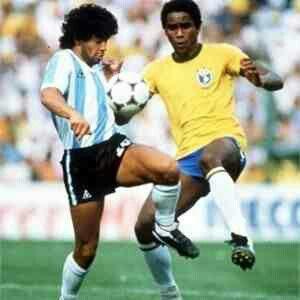 Brazil 3 Argentina 1 in 1982 in Barcelona.