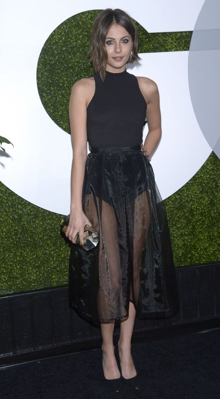 Willa Holland at the 2014 GQ Men Of The Year Party in LA