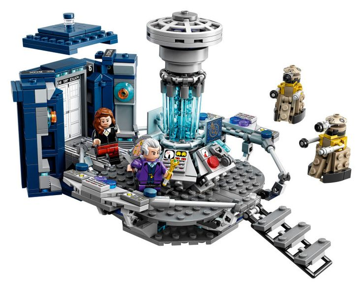 Lego Doctor WhoIs Finally Here, And It Looks Awesome