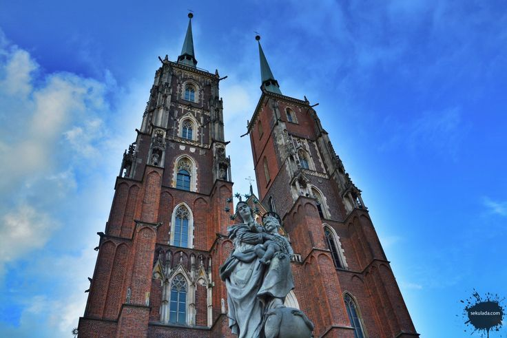 Wrocław cathedral, Poland.