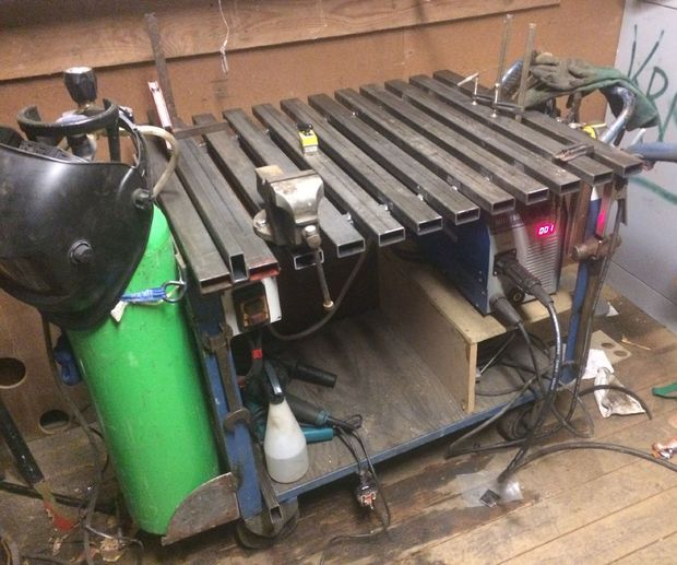 The best Welding Cart in the world?