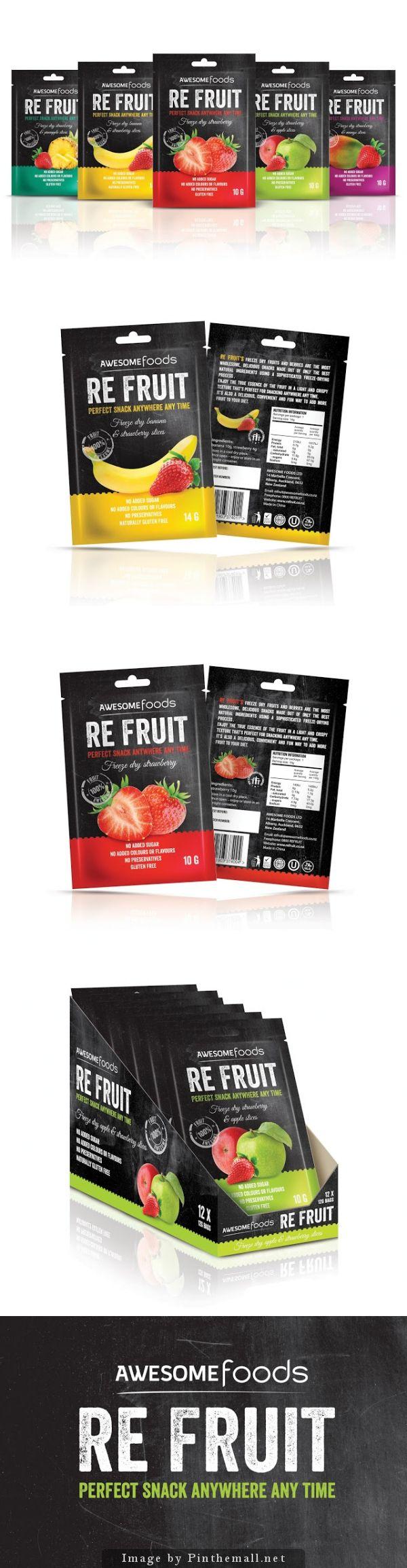 RE #FRUIT, Designer: Marcin Regucki - on Packaging of the World